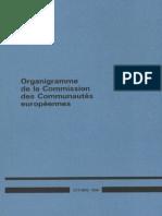 Organigramme CCE 1986
