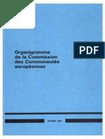 Organigramme CCE 1987