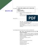 Curriculum 2015 Noé Arellano
