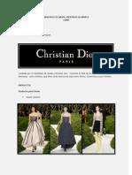 Mercadeo de Moda (Identidad de Marca) DIOR