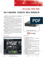 NETWORK VIDEO RECORDER DS_EN_KNR-090