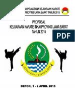 Formulir Pendaftaran Kejurprov 2015