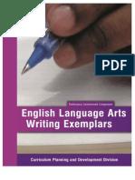 CAC ELA Writing Exemplars 2015 Final
