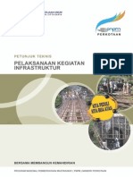 Petunjuk Teknis Pelaksanaan Infrastruktur