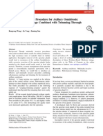 A Minimally Invasive Procedure for Axillary Osmidrosis