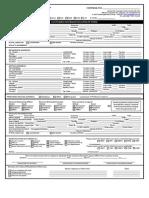 Customer Information Update Form