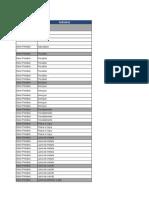 00.1 - Classificação Setorial