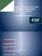 geologi bawah permukaan