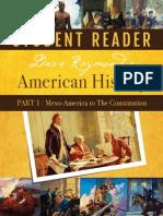 American History Part 1 Reader
