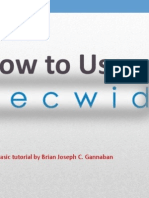 How to Use Ecwid by Brian Joseph Gannaban