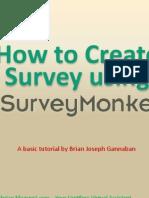 How to Create Survey Using Survey Monkey