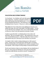 Facilitation and Systems Thinking by Tom Romito, Facilitator
