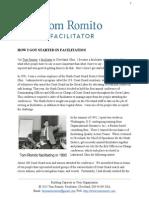 How I Got Started in Facilitation by Thomas Romito, Facilitator