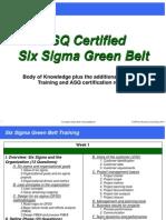 01 Cssgb Training - Agenda_v1.0