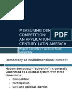Latin American Democracy 20th Century