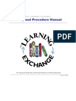Official TLE Policy & Procedure Manual