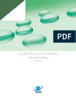 Particle Counter Principios y Equipos