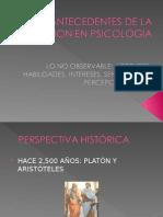 Antecedentes de La Medicion en Psicología 2