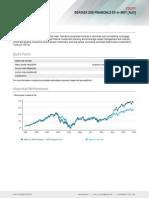 Fs Sp Asx 200 Financial x a Reit Sector