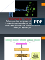 Respuesta in Muinmunologiane