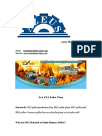 2 Ton Per Hour PKS Pellet Plant