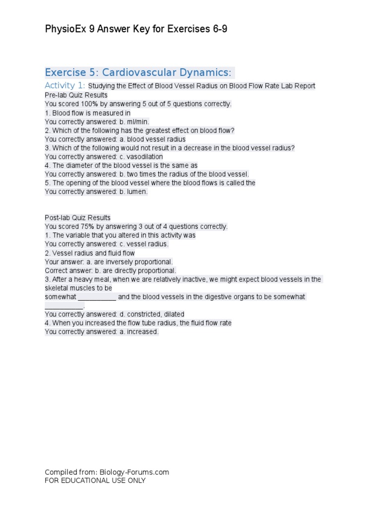 physio ex 8 0 exercise 2 skeletal Physio-ex 80: laboratory simulations in physiology- cd (software) exercise 16a skeletal muscle physiology - frog and human subjects.