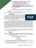 Resolucion CU 124 10