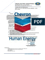 Contoh Surat Penipuan Atas Nama PT. Chevron (Hati-hati)
