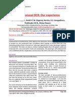 Endonasal DCR