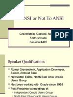 Ansi Join SQL