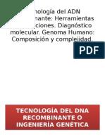 Tecnologia de Adn Recombinante (1)