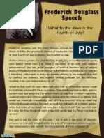 Frederick Douglass Speech - Inspirational Speech – Mocomi.com