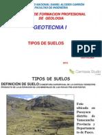 1 Tipos de Suelos en Geotecnia