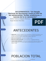 ANALISIS ESTADISTICO VPH