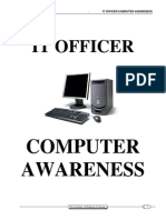 466it Officer-computer Awareness