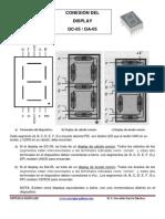 Display Catodo -Dc05 (7 Segmentos)