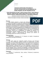 Integração entre bibliotecários e profissionais de tecnologia da informação da UFRGS