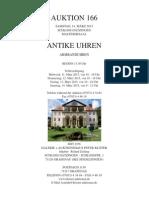 Auktionskatalog 166