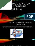 Principio Motor de Corriente