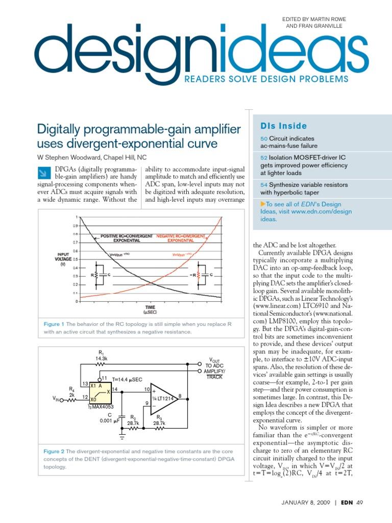 Edn Design Ideas 2009 Amplifier Operational Darkactivated Buzzer Circuit Schematic
