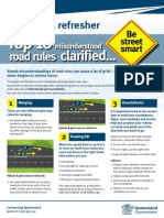 Road Rules Refresher Pocket Guide