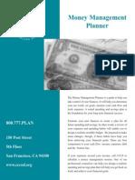 Money Management Planner