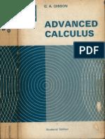 Gibson AdvancedCalculus
