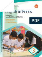 SMP Kelas 9 - English in Focus