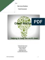 the green machine- final