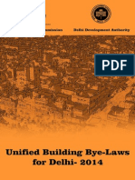 Unified Building Byelaws for Delhi 20141419596105