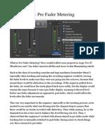 Logic Pro X_Pre Fader Metering