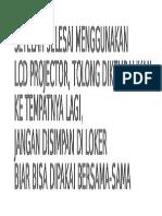 Info Projektor