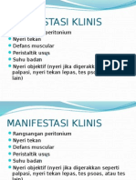 Ppt Peritonitis