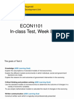 Louise Week 8 Test Notes ECON1101Test2
